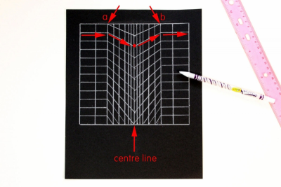 THE GRID – Creating Optical Illusions - Step Three