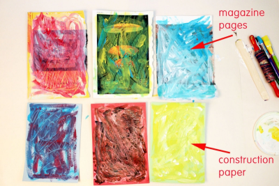 MINI STORY SQUARES – Contrast, Texture, Storytelling - Step Two