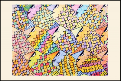TANTALIZING TESSELLATIONS – Irregular Polygons, Colour - Step Eight