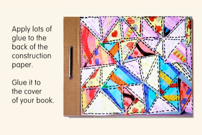 QUILT BOOK – Printmaking, Colour, Shape, Pattern - Step Five
