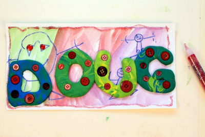 MY BEAUTIFUL NAME – Colour Mixing, Counting, Shape - Step Five