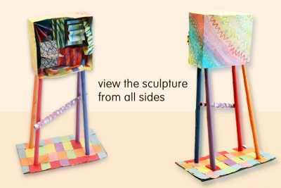 PATTERN SCULPTURE – Inspired By The OCAD Building - Step Seven