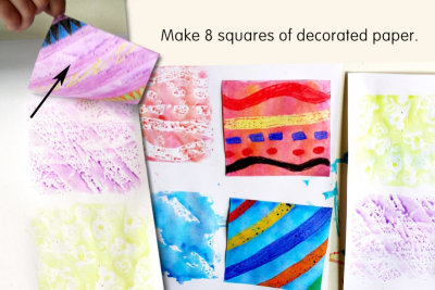 QUILT BOOK – Printmaking, Colour, Shape, Pattern - Step Three