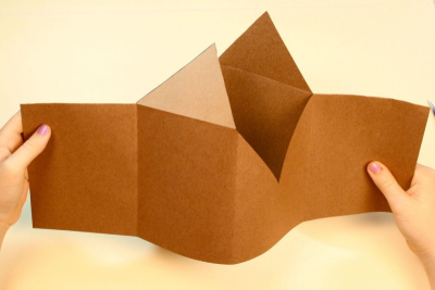 FAMILY HOLIDAY TRADITIONS – Bookmaking, Shape, Contrast - Step Seven