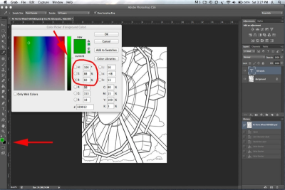 PHOTOSHOP BASICS – Adding Colour - Step Three