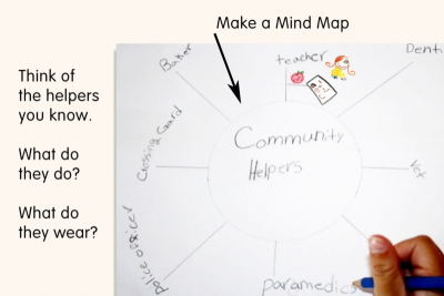 LENDING A HAND –Community Helpers - Step Two