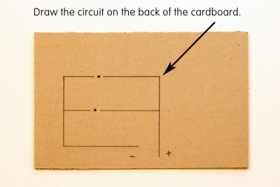 PARALLEL PAPER CIRCUIT – Symmetry, Contrast, Emphasis - Step Five