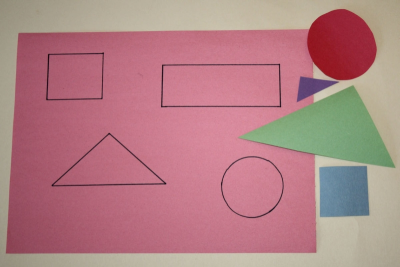 SHAPE ROBOT – Exploring Geometric Shapes - Step One