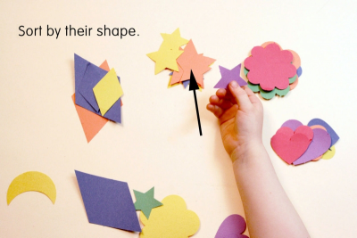 GEOMETRIC SHAPES PICTURE – Shape, Colour, Pattern - Step One