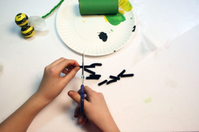 BUZZY BEE – Creating a Kazoo Puppet - Step Twelve