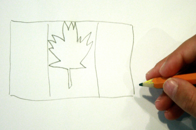 CELEBRATION BROOCHES – Colour, Canadian Symbolism - Step One