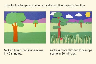 MEDIA LANDSCAPE SCENE – Foreground, Middle Ground, Background - Step Six