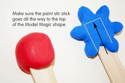 WORD WANDS – Exploring Shapes, Texture, Pattern - Step Two