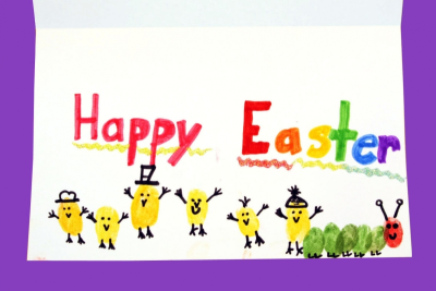 HAPPY EASTER! – Printmaking, Repetition, Colour - Step Eleven