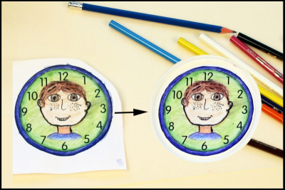 MEMORY CLOCK –Passage of Time, Pattern, Colour - Step Six