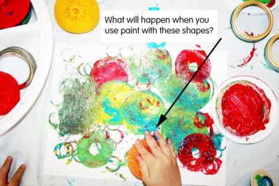 SO MANY CIRCLES – Shape, Colour, Texture - Step Two